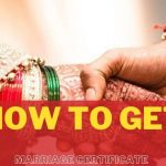 how to get marriage certificate